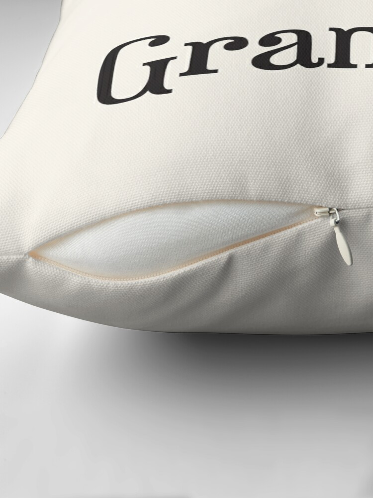 Alternate view of Reserved for Grandma Cushion/Throw Pillow Throw Pillow