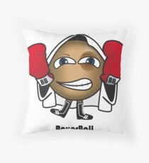 Boxer Ball Throw Pillow
