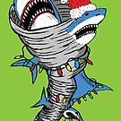«Tornado de Santa Shark» de jarhumor