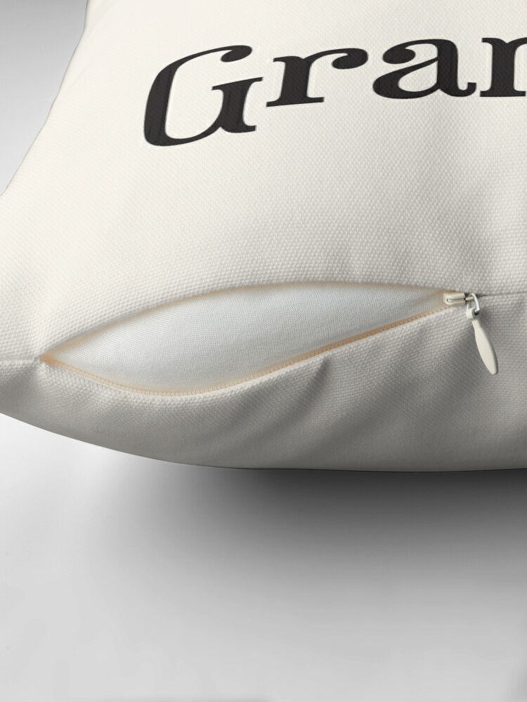 Alternate view of Reserved for Grandad Cushion/Throw Pillow Throw Pillow