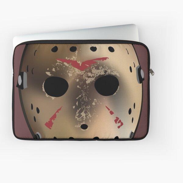 Friday the 13th Inspired Hockey Mask Laptop Sleeve