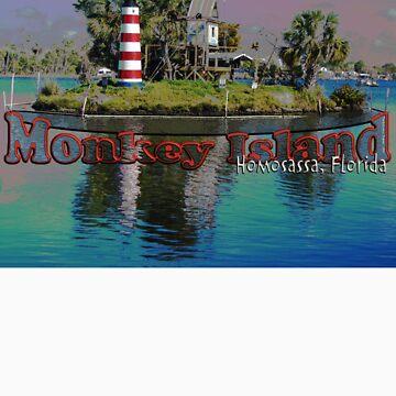 Monkey Island, Homosassa, Florida by TravlynWomyn