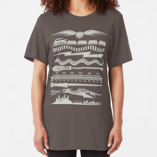Wizard Whimsy Slim Fit T-Shirt