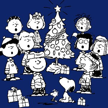 A Charlie Brown Christmas Peanuts Tree Presents by neonfuture