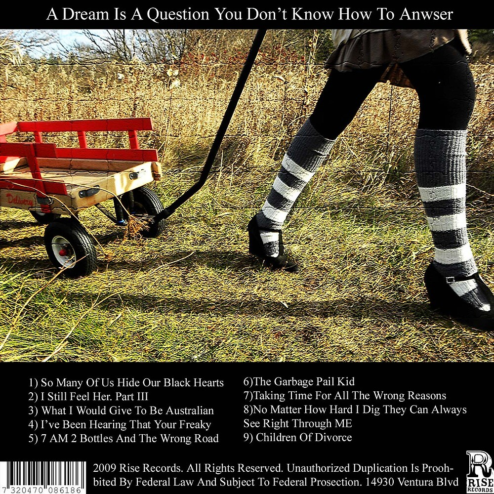 A Dream Is A Question You Don't Know How To Anwser Pt 2 by Aaron Caven