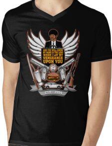Pulp Heraldry Mens V-Neck T-Shirt