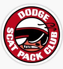 Retro Scat Pack Sticker