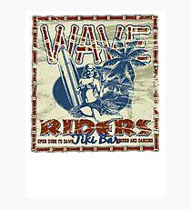 wave riders tiki bar Photographic Print