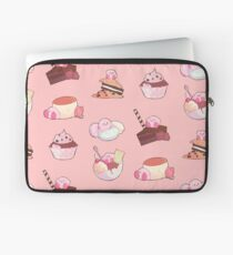 [Kirby] Dessert time! Laptop Sleeve