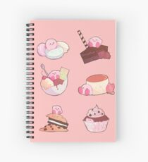 [Kirby] Dessert time! Spiral Notebook