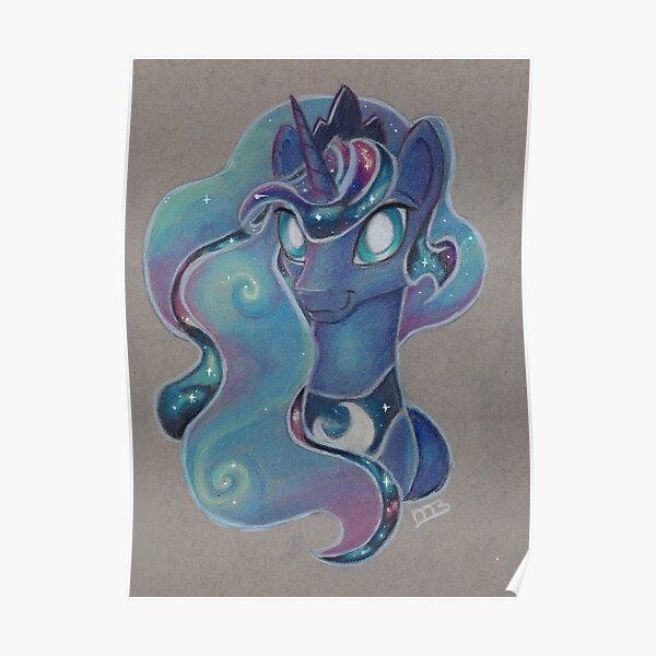 Galaxy Princess Luna Poster