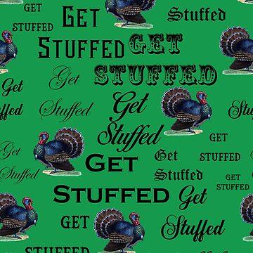 Get Stuffed - Turkeys At Christmas by grinningskull