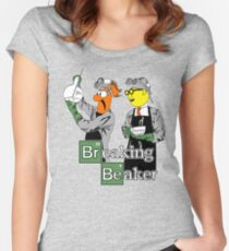 Breaking Beaker Women's Fitted Scoop T-Shirt