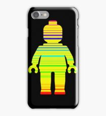 Striped Minifig iPhone Case/Skin