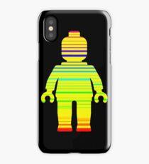 Striped Minifig iPhone Case/Skin