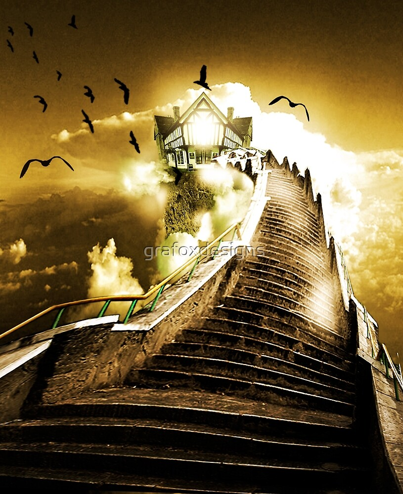 Stairway by grafoxdesigns