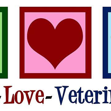 Peace Love Veterinarian by elishamarie28