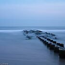 Jetty Near Ocean City by Christopher L. Moore