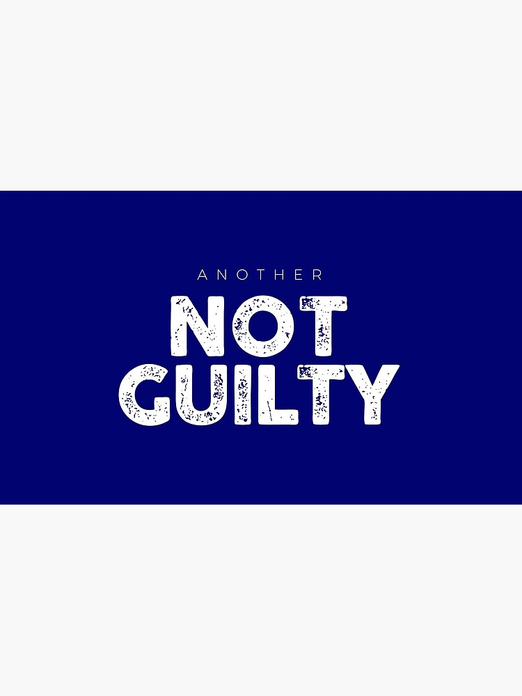Another Not Guilty Logo Merch by AnothrNotGuilty