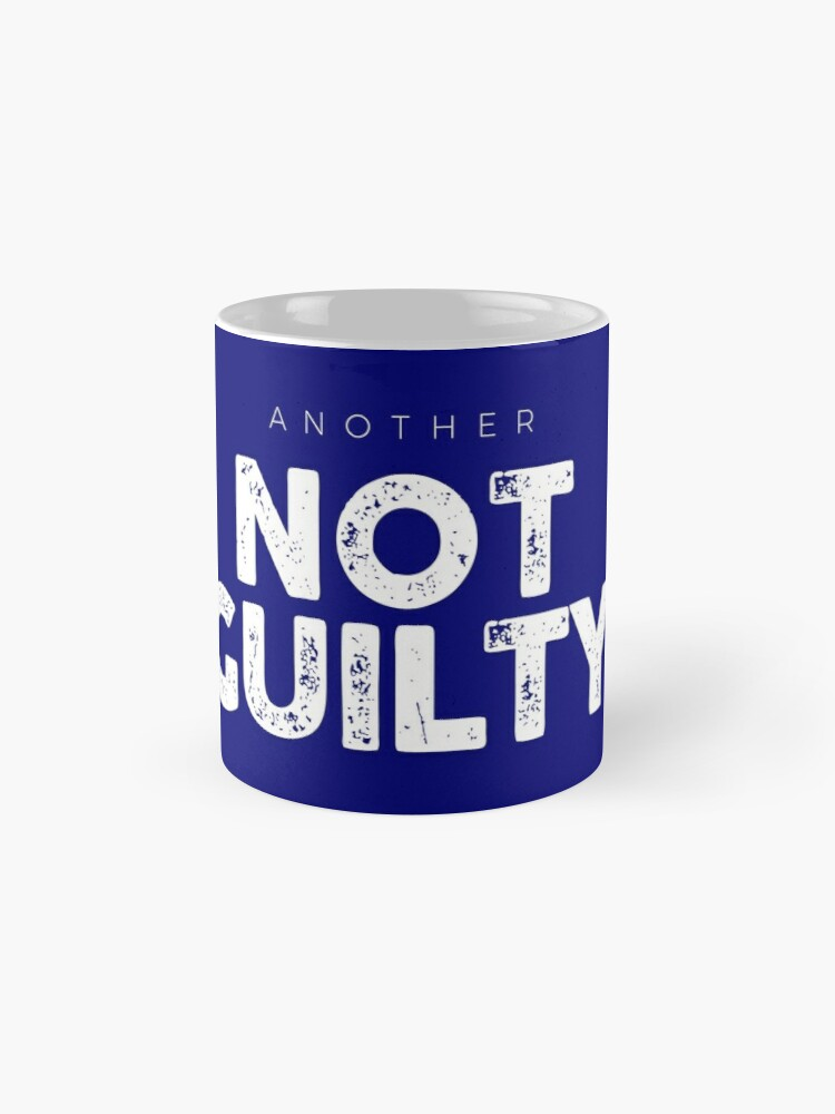 Alternate view of Another Not Guilty Logo Merch Mug