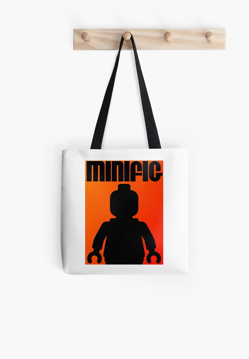 Retro Large Black Minifig, Customize My Minifig by ChilleeW