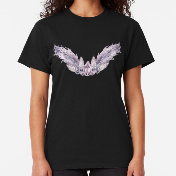 Angel Wings with Bird Feathers Classic T-Shirt
