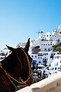 Donkey's View Of Oia, Santorini  by Paul Thompson Photography