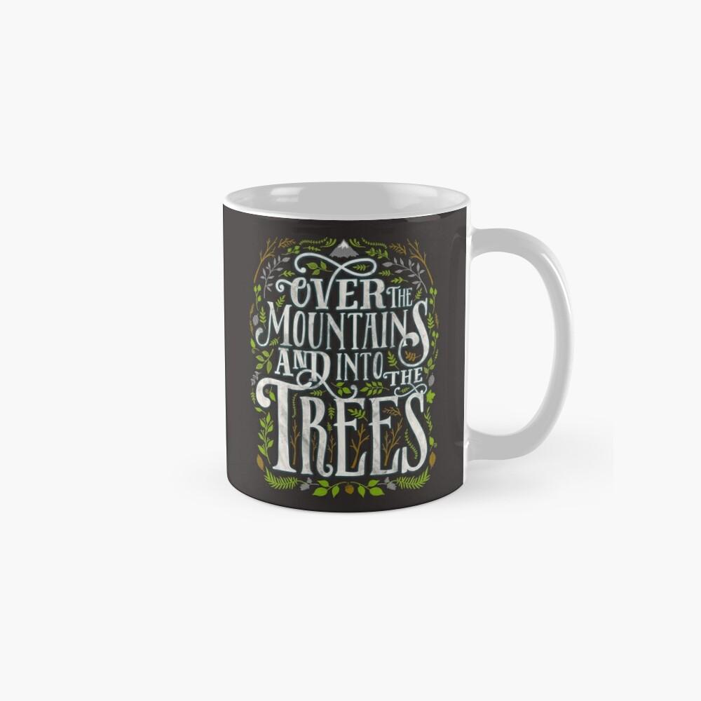 Über die Berge und in die Bäume Tasse