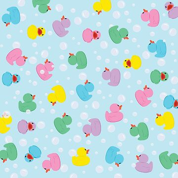 Colorful Rubber Duckies by underwatercity