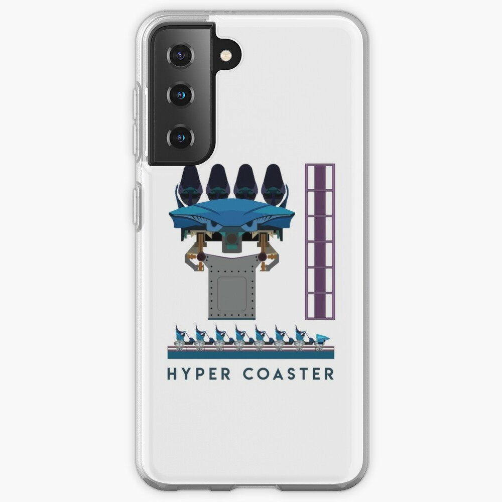 B&M Hyper Coaster Art Design - Maako Case & Skin for Samsung Galaxy
