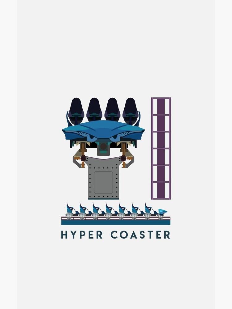 B&M Hyper Coaster Art Design - Maako by CoasterMerch