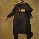 Portrait of Pablo de Valladolid (Diego Velázquez) by PZAndrews