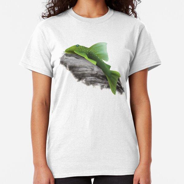 Green Phantom Pleco Classic T-Shirt