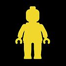 Minifig [Yellow]  by Customize My Minifig