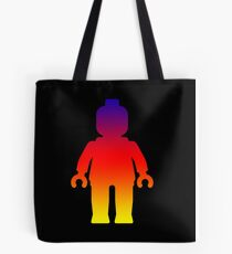 Minifig [Large Rainbow 2]  Tote Bag