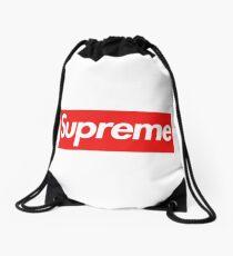 Mochila de cuerdas Supremo clásico auténtico 20 aniversario de la caja del logotipo