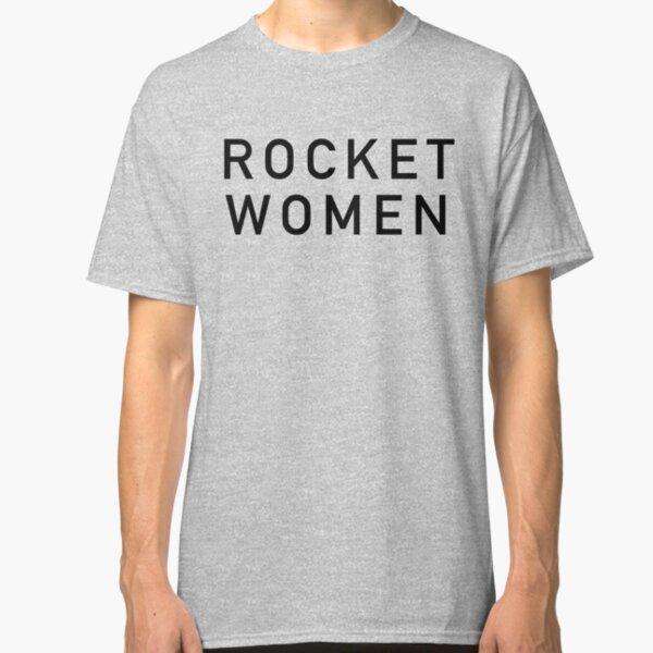 Rocket Women - Black Text Classic T-Shirt