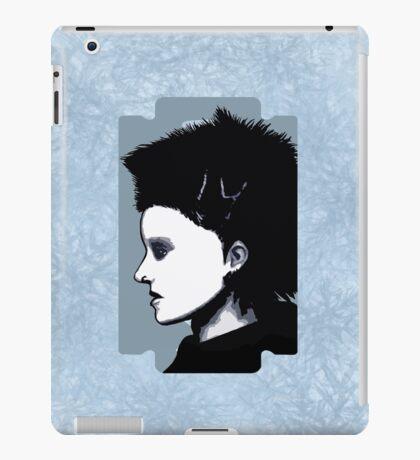 Lisbeth Salander Razor Blade iPad Case/Skin