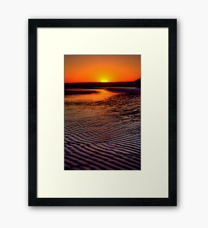 """Approaching Completion"" Framed Print"