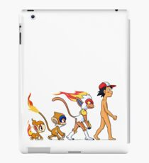 the real evolution iPad Case/Skin