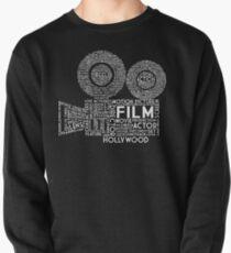 Film Camera Typography - White Pullover