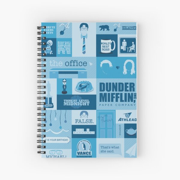 The Office Spiral Notebook