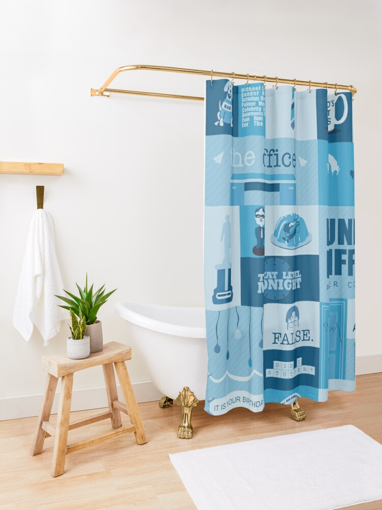 Alternate view of The Office Shower Curtain