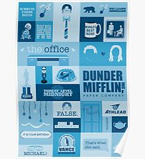 The office posters Wall The Office Poster Teepublic The Office Posters Redbubble
