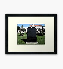 Ten Commandment Framed Print