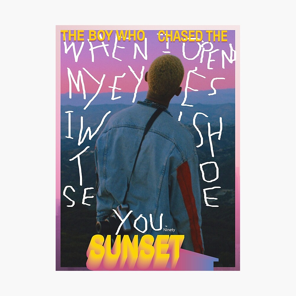 Jaden Smith The Sunset Tapes A Cool Tape Story Cover Poster 2018 Art Print 24×24
