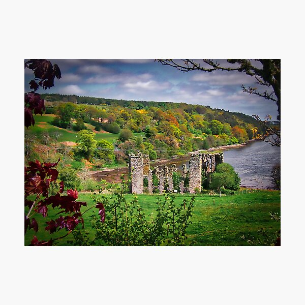 Abandoned mill, Scotland Photographic Print