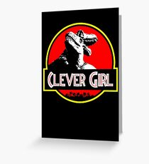 Clever Girl II Greeting Card