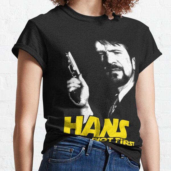 Hans Shot First T-shirt classique