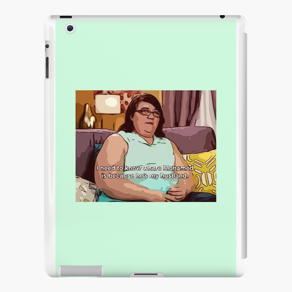 Mohamed ist mein Mann iPad-Hüllen & Klebefolien